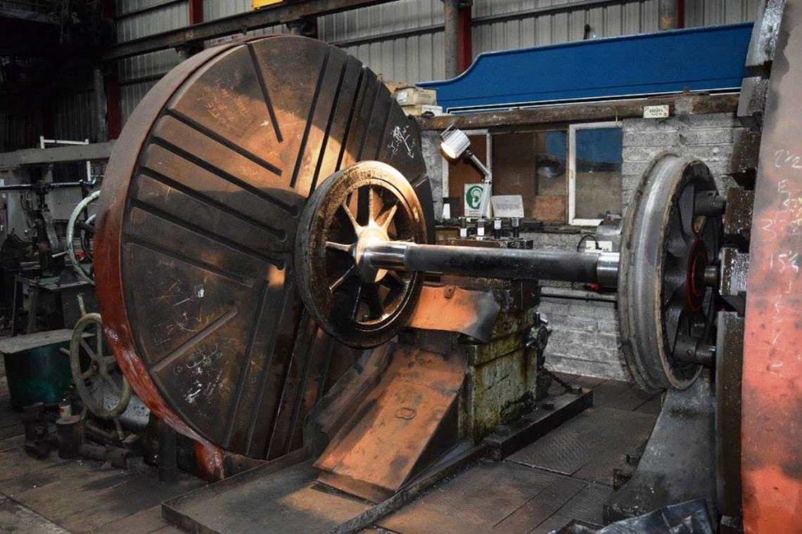Wheel Lathe