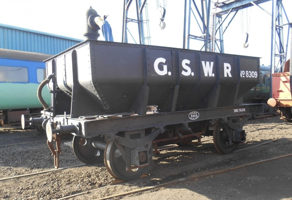 8309 Ballast Wagon