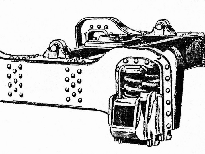 1891: Fox's Patent Bogies as illustrated in the Railway Engineer for August 1891.