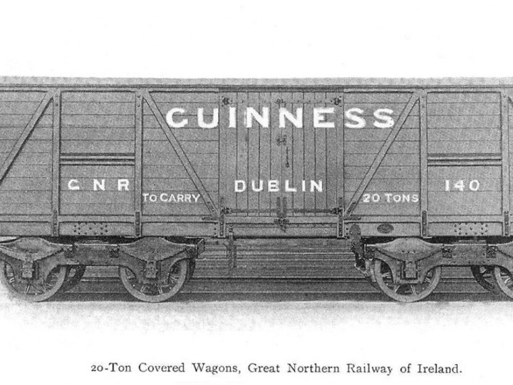 1904: The first Guinness Van, 140 in the Railway Engineer for March 1904, page 91.