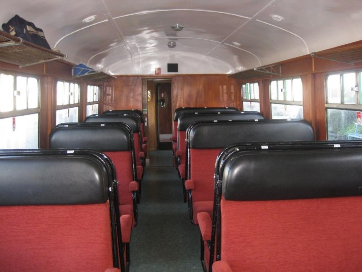 The interior of 1419 on 3rd October 2010, showing its 2+3 seating arrangement. (G.Owens)