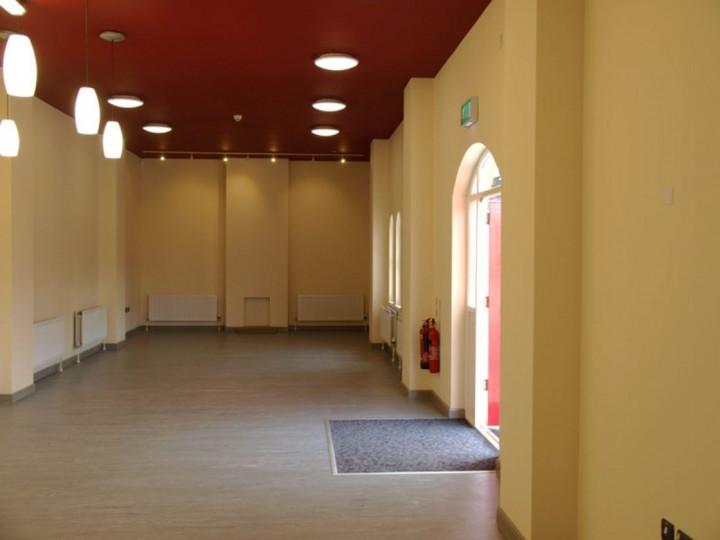 6/6/2013: An interior view, looking towards Belfast.