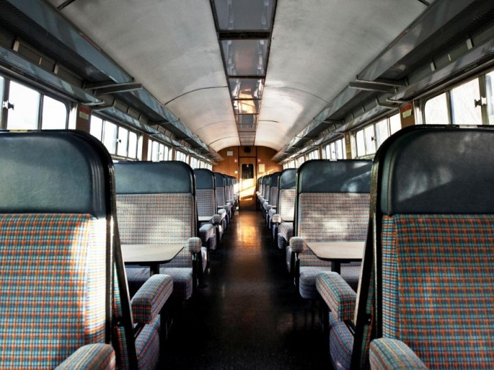 The interior of a Cravens standard open, 31st January 2015. (S.Comiskey)