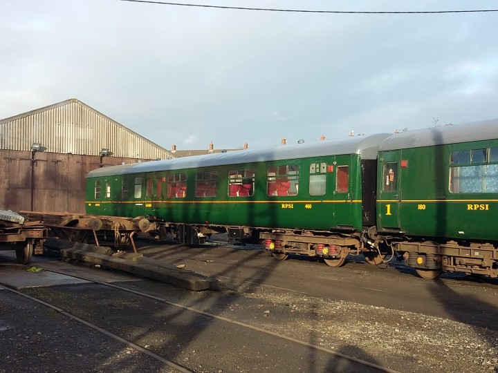 26/11/2017: Carriage 460 in ex works condition.