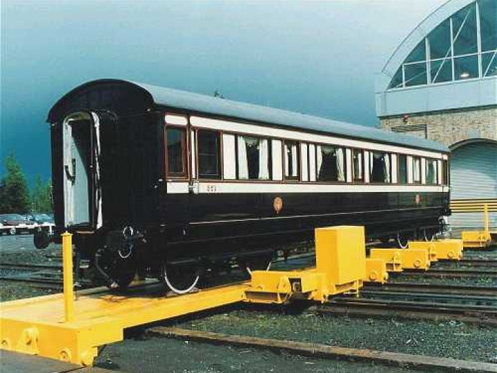 Overall Winner (Supreme Champion) - Irish State Coach, HRA Carriage and Wagon Competition 2000.