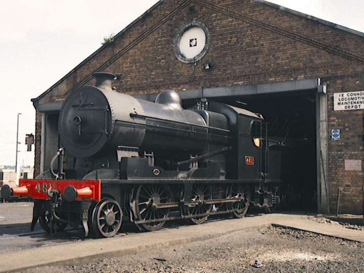 At Connolly shed, Dublin. (B.Pickup)