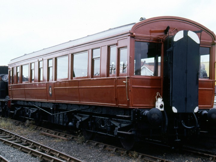 Exterior view of 50 after restoration, taken at Whitehead, 4/7/1981. (C.P. Friel)