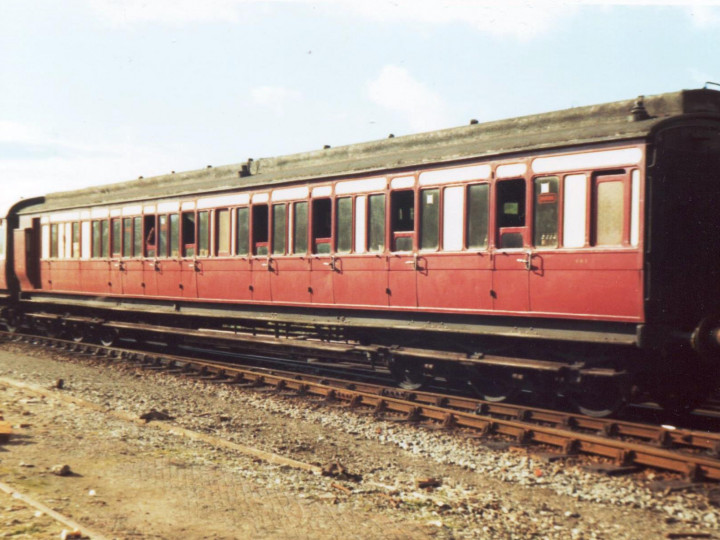 1977: 861 on the Cú na Mara railtour.