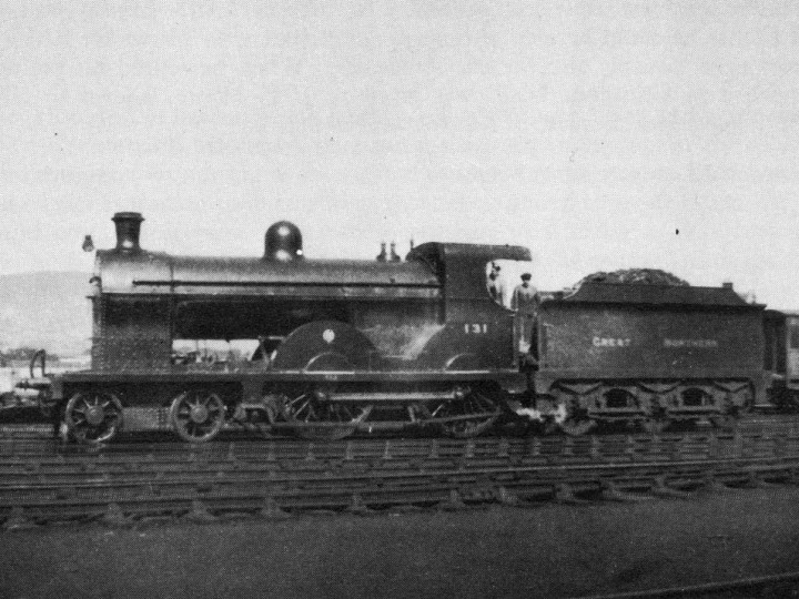 No.131 in rebuilt form at Adelaide. Photographer and date unknown.