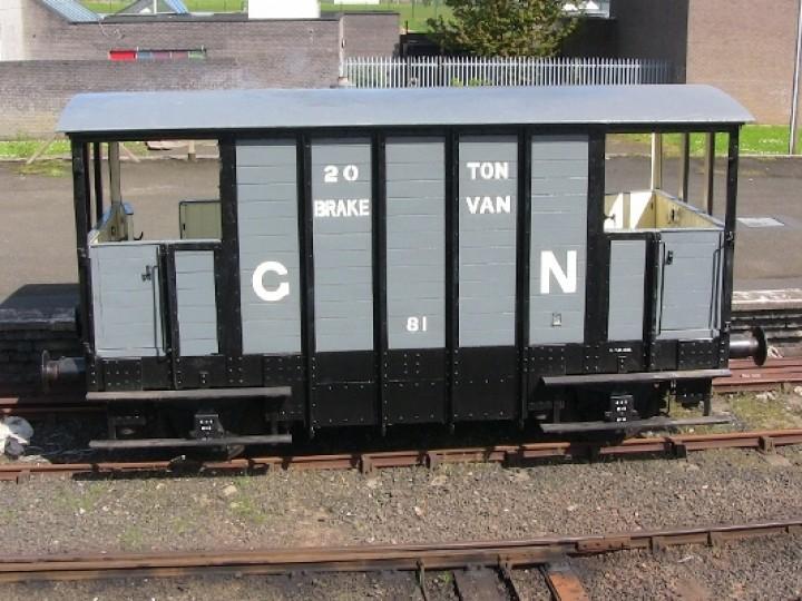 81 GNR Brake Van