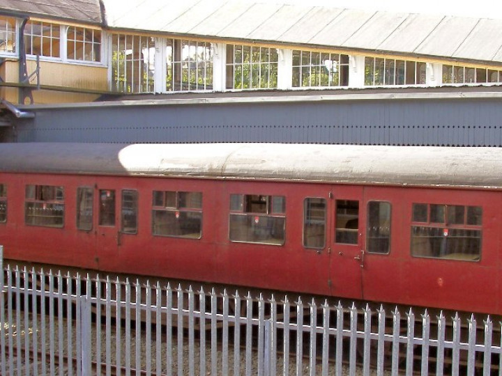28/9/2008: The carriage on display at Dundalk. (C.P. Friel)