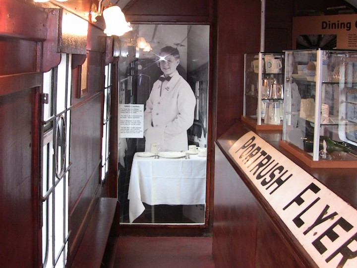 The dining car's conversion and restoration was completed by August 2010. The official launch was held on 25th August.
