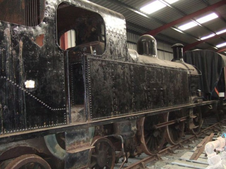 No.27 in store at Whitehead in 2006. (M.Walsh)