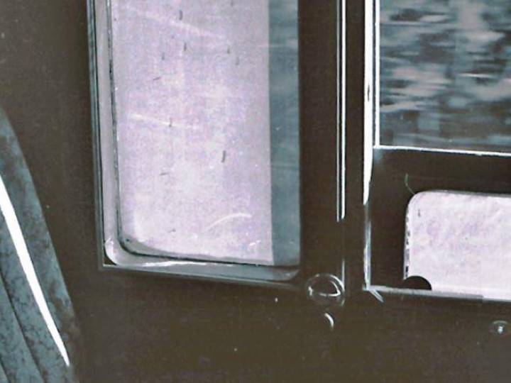 1969: Smoking compartment. The carriage is on the move on the daily transfer between Heuston and Inchicore. (M.H.C. Baker)
