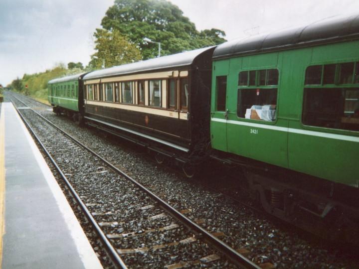 12/5/2007: 351 on the Garavogue railtour. (B. Robertson)