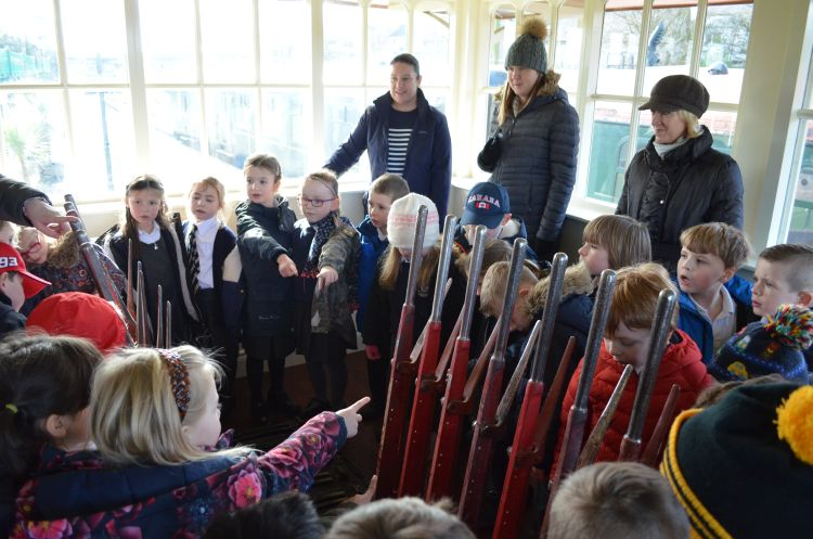 School Trip to Whitehead Railway Museum